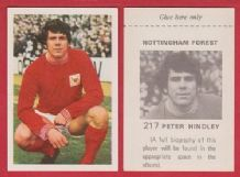 Nottingham Forest Peter Hindley